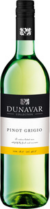 Dunavár Pinot Grigio 2014 Bottle