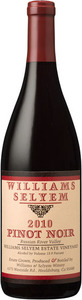 Williams Selyem Russian River Pinot Noir 2010 Bottle