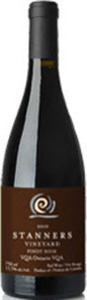 Stanners Pinot Noir 2012, VQA Prince Edward County Bottle