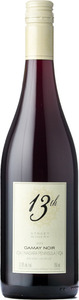 13th Street Gamay Noir 2013, VQA Niagara Peninsula Bottle