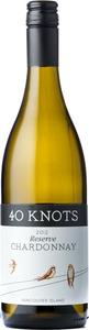 40 Knots Reserve Chardonnay 2012, Vancouver Island Bottle