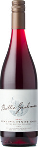 Baillie Grohman Pinot Noir Reserve 2012, British Columbia Bottle