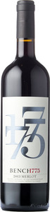 Bench 1775 Merlot 2013, BC VQA Okanagan Valley Bottle