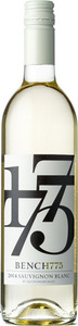 Bench 1775 Sauvignon Blanc 2014, BC VQA Okanagan Valley Bottle