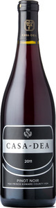Casa Dea Pinot Noir 2011, VQA Prince Edward County Bottle