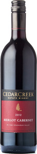 CedarCreek Merlot Cabernet 2012, BC VQA Okanagan Valley Bottle