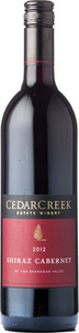 CedarCreek Shiraz Cabernet 2012, BC VQA Okanagan Valley Bottle