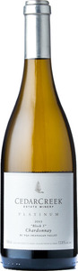 CedarCreek Platinum Block 5 Chardonnay 2013, Okanagan Valley Bottle