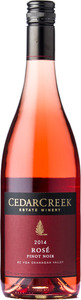 CedarCreek Rosé Pinot Noir 2014, Okanagan Valley Bottle