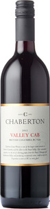 Chaberton Estate Winery Valley Cab 2012, BC VQA British Columbia Bottle