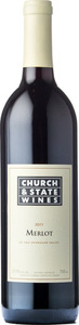 Church & State Merlot 2011, BC VQA Okanagan Valley Bottle