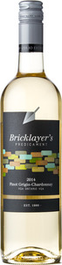 Colio Estate Bricklayer's Predicament Pinot Grigio Chardonnay 2014, Lake Erie North Shore VQA Bottle