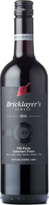 Bricklayer's Reward Old Farm Cabernet Franc 2012, VQA Lake Erie North Shore Bottle