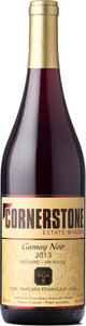 Cornerstone Estate Winery Gamay Noir 2013, Lincoln Lakeshore Bottle