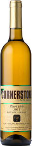 Cornerstone Estate Winery Pinot Gris 2013, Lincoln Lakeshore Bottle