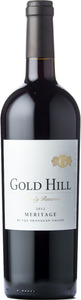 Gold Hill Meritage Family Reserve 2012, VQA Okanagan Valley Bottle