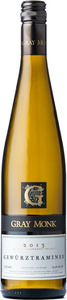 Gray Monk Gewurztraminer 2013, BC VQA Okanagan Valley Bottle