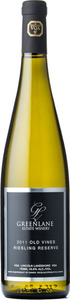 Greenlane Old Vines Riesling Reserve 2011, VQA Lincoln Lakeshore Bottle