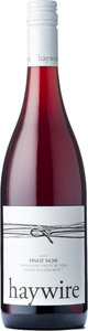 Haywire Pinot Noir 2013, BC VQA Okanagan Valley Bottle