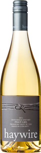 Haywire Switchback Pinot Gris 2013, BC VQA Okanagan Valley Bottle
