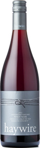 Haywire Canyonview Pinot Noir 2012, BC VQA Okanagan Valley Bottle