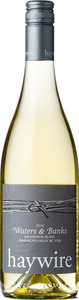 "Haywire Sauvignon Blanc ""Waters & Banks"" 2014, BC VQA Okanagan Valley Bottle"