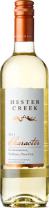 Hester Creek Character Estate White Blend 2014, BC VQA Okanagan Valley Bottle