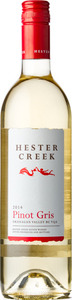 Hester Creek Pinot Gris 2014, BC VQA Okanagan Valley Bottle