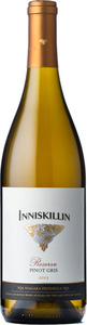 Inniskillin Reserve Pinot Gris 2013, Niagara On The Lake Bottle