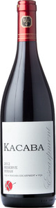 Kacaba Reserve Syrah 2012, VQA Niagara Escarpment Bottle