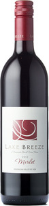Lake Breeze Merlot 2012, BC VQA Okanagan Valley Bottle