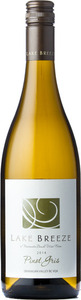 Lake Breeze Pinot Gris 2014, BC VQA Okanagan Valley Bottle