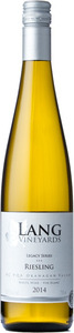 Lang Vineyards Legacy Series Riesling 2014, VQA Okanagan Valley Bottle