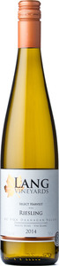 Lang Vineyards Select Harvest Riesling 2014, Okanagan Valley (375ml) Bottle