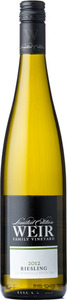 Mike Weir Limited Edition Riesling 2012, VQA Beamsville Bench, Niagara Peninsula Bottle