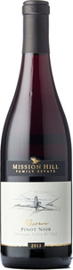 Mission Hill Reserve Pinot Noir 2013, BC VQA Okanagan Valley Bottle