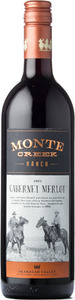 Monte Creek Ranch Cabernet Merlot 2013, BC VQA Okanagan Valley Bottle