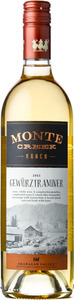 Monte Creek Ranch Gewurztraminer 2013, BC VQA Okanagan Valley Bottle