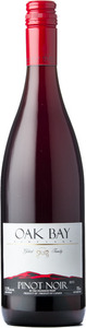 Oak Bay Pinot Noir 2012, BC VQA Okanagan Valley Bottle