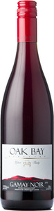 Oak Bay Gamay Noir 2013, BC VQA Okanagan Valley Bottle