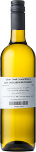Oliver Twist Winery Chardonnay 2014, BC VQA Okanagan Valley Bottle