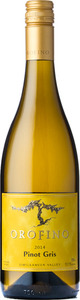 Orofino Pinot Gris 2014, BC VQA Similkameen Valley Bottle