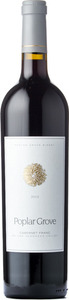 Poplar Grove Cabernet Franc 2012, BC VQA Okanagan Valley Bottle