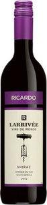 Ricardo Larrivée Vins Du Monde Shiraz 2013 Bottle