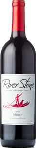 River Stone Estate Winery Merlot River Rock Vineyard 2012, Okanagan Valley Bottle