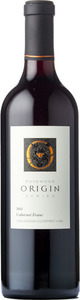 Rosewood Origin Cabernet Franc 2013, VQA Beamsville Bench Bottle