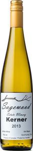 Sagewood Winery Kerner 2013, British Columbia Bottle
