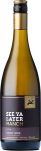 See Ya Later Ranch Pinot Gris 2014, BC VQA Okanagan Valley Bottle
