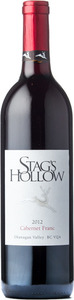 Stag's Hollow Cabernet Franc 2012, BC VQA Okanagan Valley Bottle