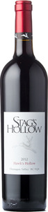 Stag's Hollow Hawk's Hollow 2012, VQA Okaganan Valley Bottle